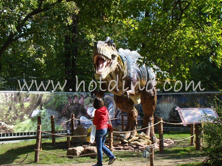 仿真恐龙登录白俄罗斯