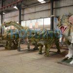 自贡活体仿真恐龙产业发展的历程与渊源